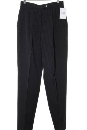 Calvin Klein Bundfaltenhose dunkelblau Nadelstreifen Business-Look
