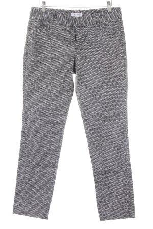 Calvin Klein Pantalon à pinces noir-blanc motif de tache style d'affaires