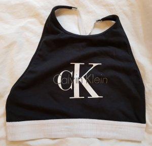 Calvin Klein Top bustino bianco-nero