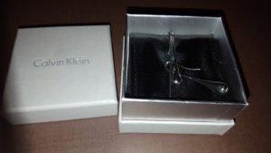 Calvin Klein CK Ellipse Ohrringe silber