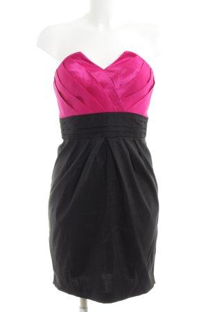 Calvin Klein Cocktailkleid schwarz-pink Business-Look