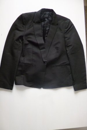 Calvin Klein Collection, Blazer, Cotton, schwarz, Gr. 38 (it. 44/US 8), € 650,-
