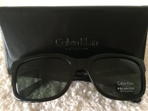 Calvin Klein Sunglasses black brown-dark green