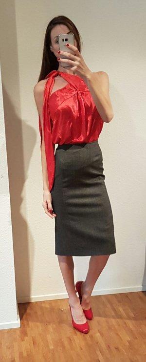 calvin klein collection high waist pencil skirt eleganter Bleistiftrock midi Rock