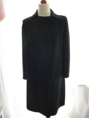 Calvin Klein Collection, Mantel, Schurwolle, schwarz, 40, neuwertig, € 2.500, -