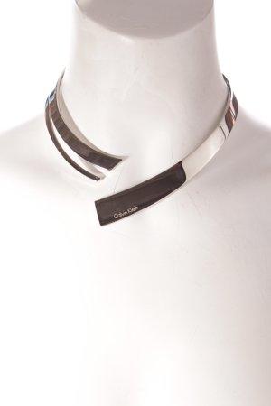 Calvin Klein Collier argento stile minimalista