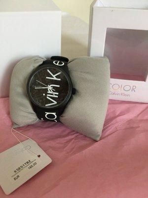 Calvin Klein Colour Uhr unisex schwarz Neu