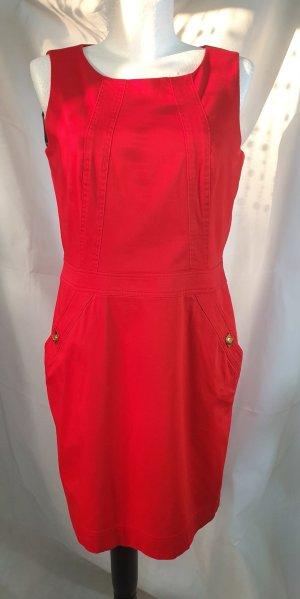 Calvin Klein Damen Etui Kleid Rot Gr 42 (12)