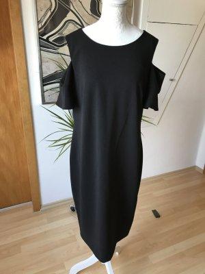 Calvin Klein Robe découpée noir-doré polyester