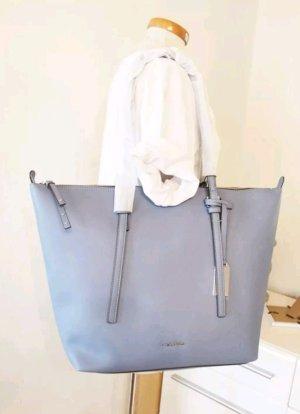 Calvin Klein Damen Shopper Blau Neu
