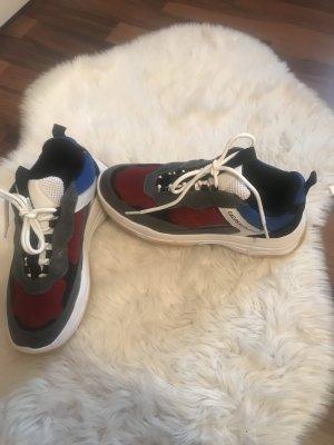 Calvin Klein Lace-Up Sneaker black-grey