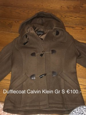 Calvin Klein Duffel Coat brown