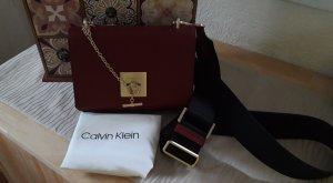 Calvin Klein Crossbody bag bordeaux