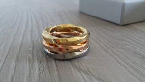 Calvin Klein Edelstahl Ring-Set Neu Gr. 57