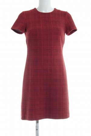 Calvin Klein Empire Dress red-black check pattern casual look