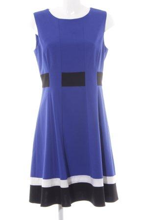 Calvin Klein Etuikleid blau Business-Look