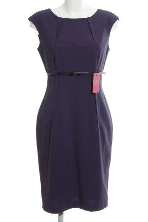 Calvin Klein Etuikleid dunkelviolett Business-Look
