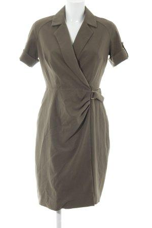 Calvin Klein Etuikleid grüngrau-olivgrün Business-Look