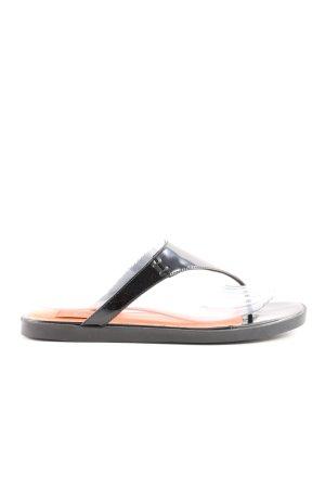 Calvin Klein Flip Flop Sandalen schwarz Casual-Look