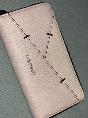 Calvin Klein Portefeuille rose clair cuir