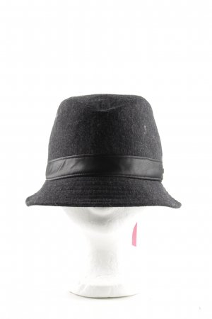 Calvin Klein Cloche Hat black flecked business style