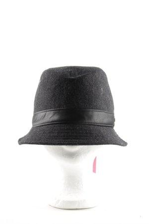 Calvin Klein Glockenhut schwarz meliert Business-Look