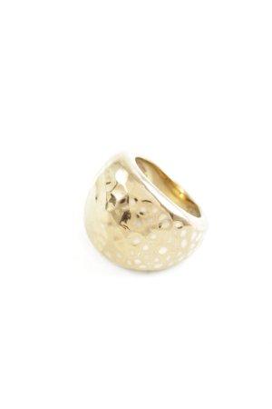 Calvin Klein Goldring goldfarben klassischer Stil