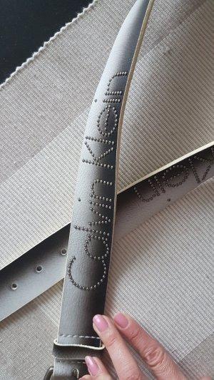 Calvin Klein Riem zwart-lichtgrijs