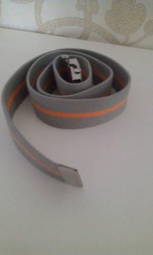 Calvin Klein Riem oranje-olijfgroen