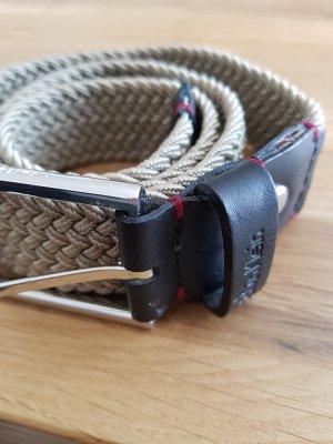 Calvin Klein Riem grijs-bruin-donkerbruin