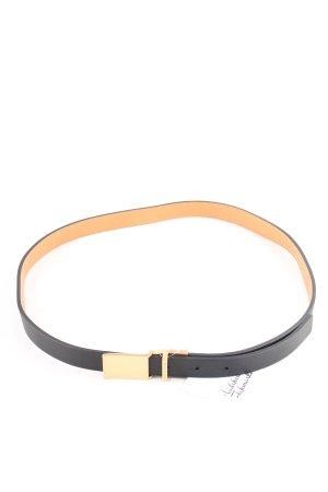 Calvin Klein Gürtel schwarz-goldfarben Matt-Optik