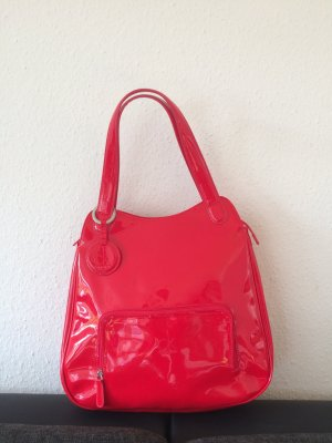 Calvin Klein Carry Bag red synthetic material