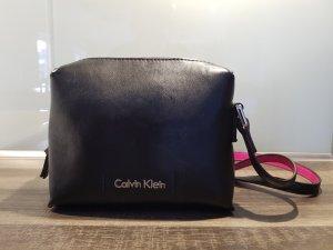 Calvin Klein Bolsa de hombro negro-rosa