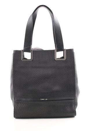 Calvin Klein Handtasche schwarz Business-Look