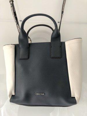 Calvin Klein Handtasche Blau/Weiß -NEU-