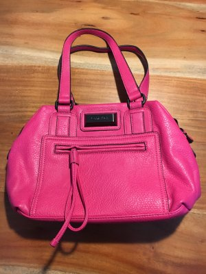 Calvin Klein Carry Bag pink leather
