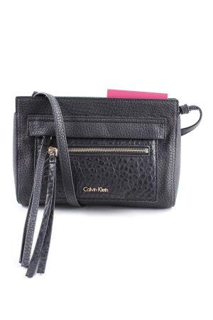 Calvin Klein Handtasche schwarz-goldfarben Casual-Look