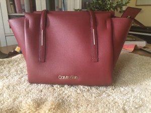 Calvin Klein Handbag dark red