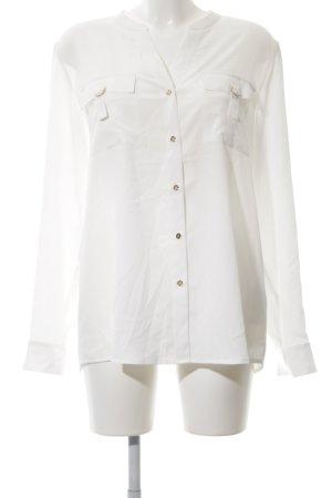 Calvin Klein Hemd-Bluse weiß Business-Look