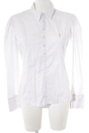 Calvin Klein Hemd-Bluse weiß klassischer Stil