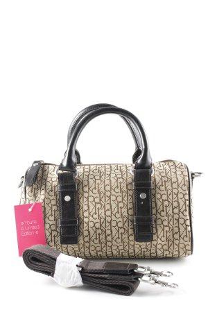 Calvin Klein Carry Bag beige-dark brown printed lettering casual look
