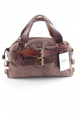Calvin Klein Carry Bag brown-light brown minimalist style