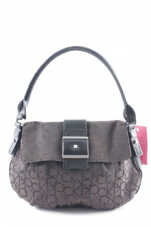 Calvin Klein Carry Bag black-grey brown embroidered lettering simple style