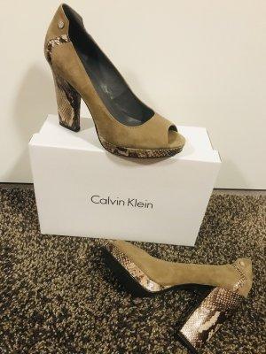 Calvin Klein High Heel Peeptoes