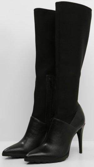Calvin Klein High Heel Stiefel schwarz