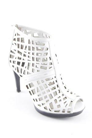 Calvin Klein High Heels weiß-schwarz extravaganter Stil