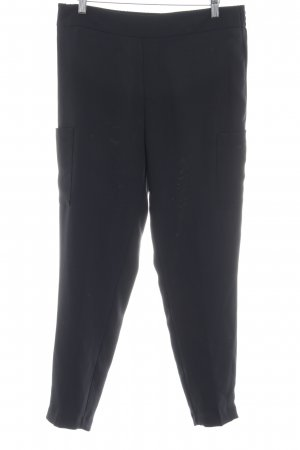 Calvin Klein Pantalon taille haute noir style décontracté