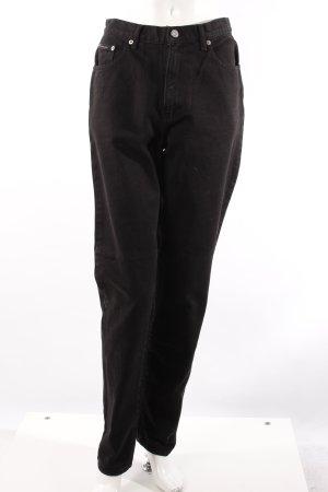 Calvin Klein High-Waist Jeans schwarz
