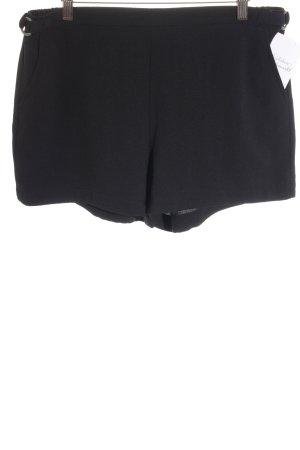 Calvin Klein High-Waist-Shorts schwarz klassischer Stil