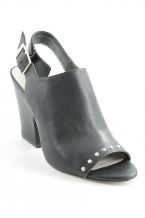 Calvin Klein Hochfront-Pumps schwarz Party-Look